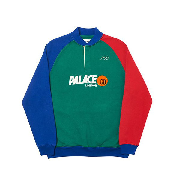 [해외] 팔라스 KP45 GB 스웻 Palace P45 GB Sweat 18FW