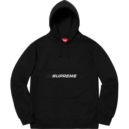 [해외] 슈프림 집 파우치 후드 Supreme Zip Pouch Hooded Sweatshirt 19SS